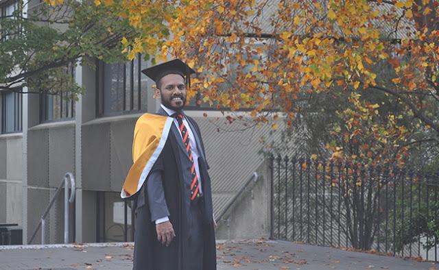 Moses Muhwannah Tekwie graduates from Otago on Saturday.