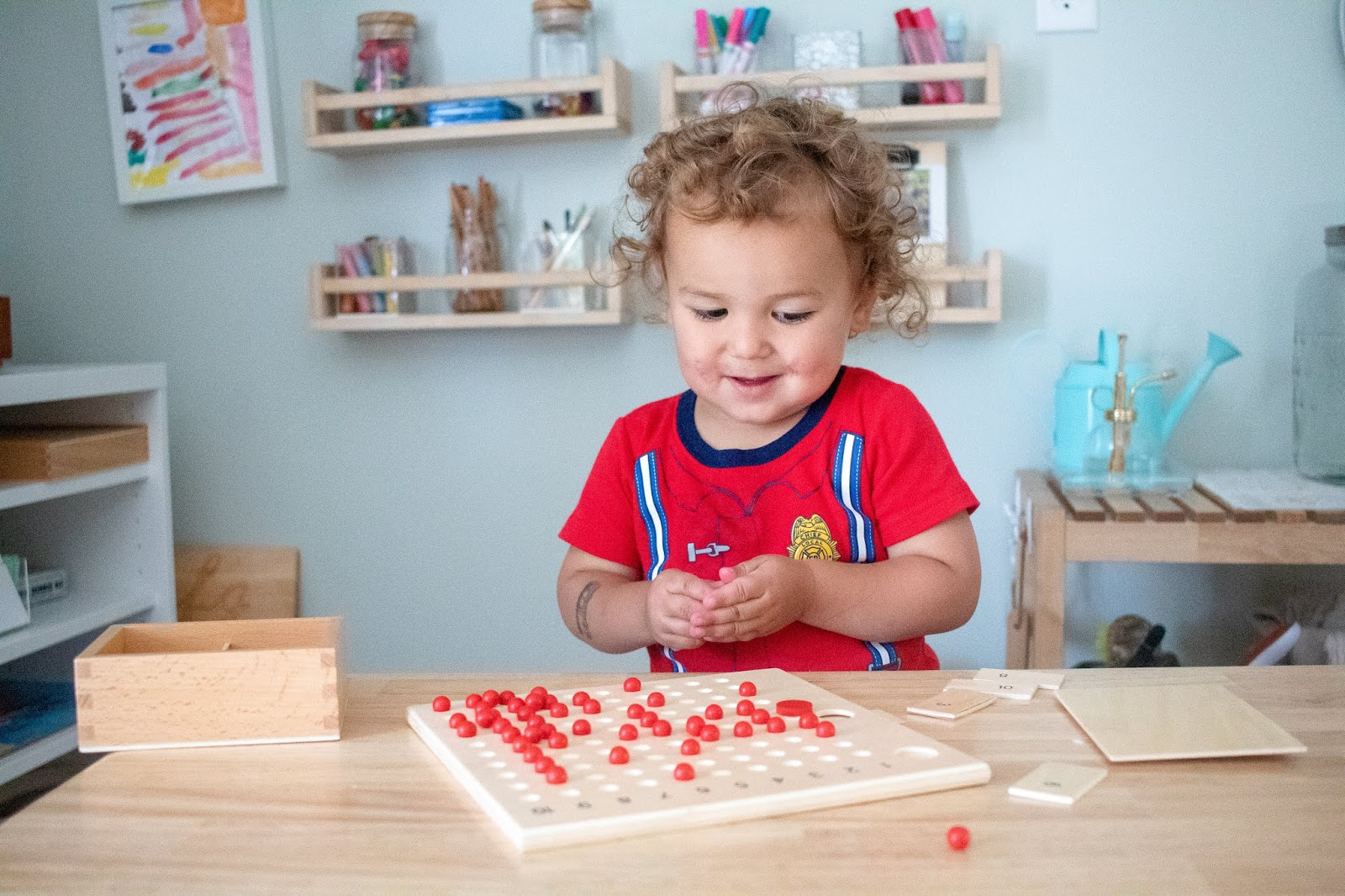 Thoughts about Montessori and the powerful unconscious absorbent mind and what it practically means for parents in 2019