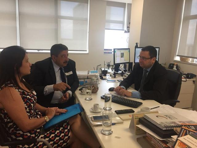 Em Brasília, Prefeito Joaquim Neto acompanha investimentos destinados à educação de Gravatá