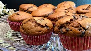 Muffins de Chocolate com Pepitas de Chocolate
