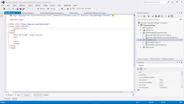 Programmer Apsx Asp.Net