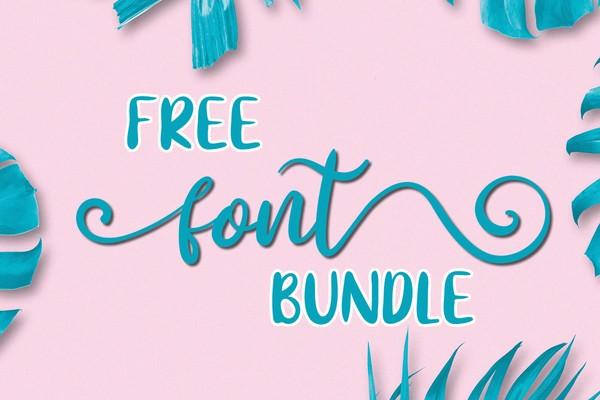 Free Font Bundle V2