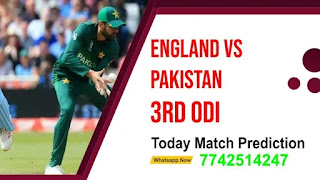 3rd ODI Match: Eng vs Pak Match Prediction Who will win Today Astrology
