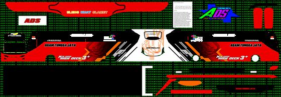 livery agam tungga jaya merah jb3+ shd mn wsp mods