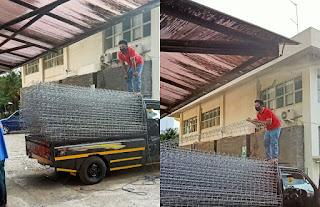 barang pagar brc sampai proyek RSCM