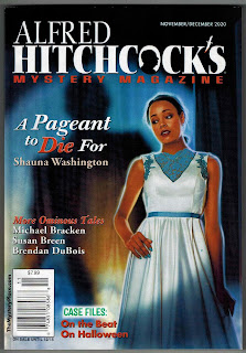 Image of cover of Alfred Hitchcock's Mystery Magazine, November/December 2020