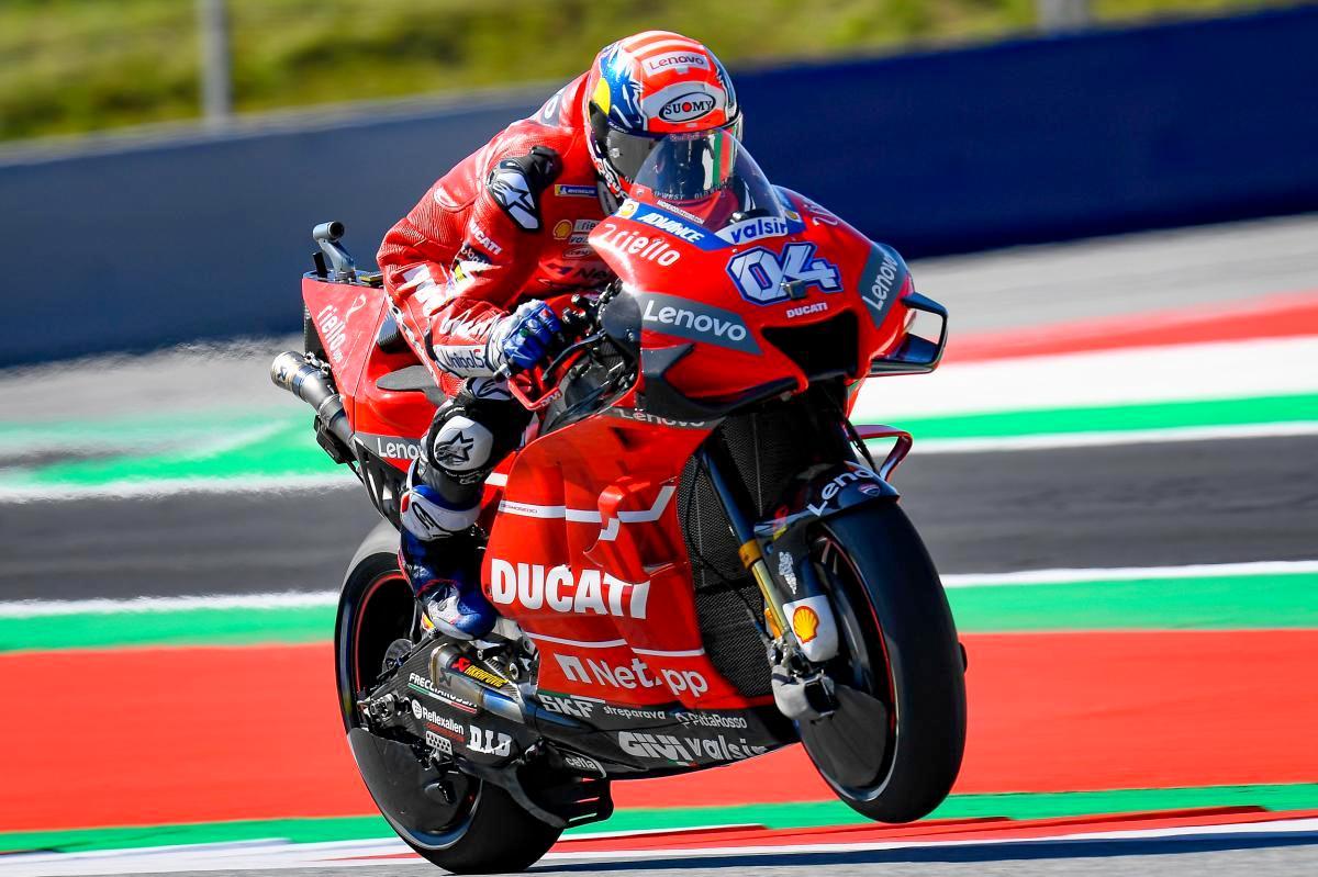 Ducati mendominasi 10 rekor top speed MotoGP yang dirilis Dorna !