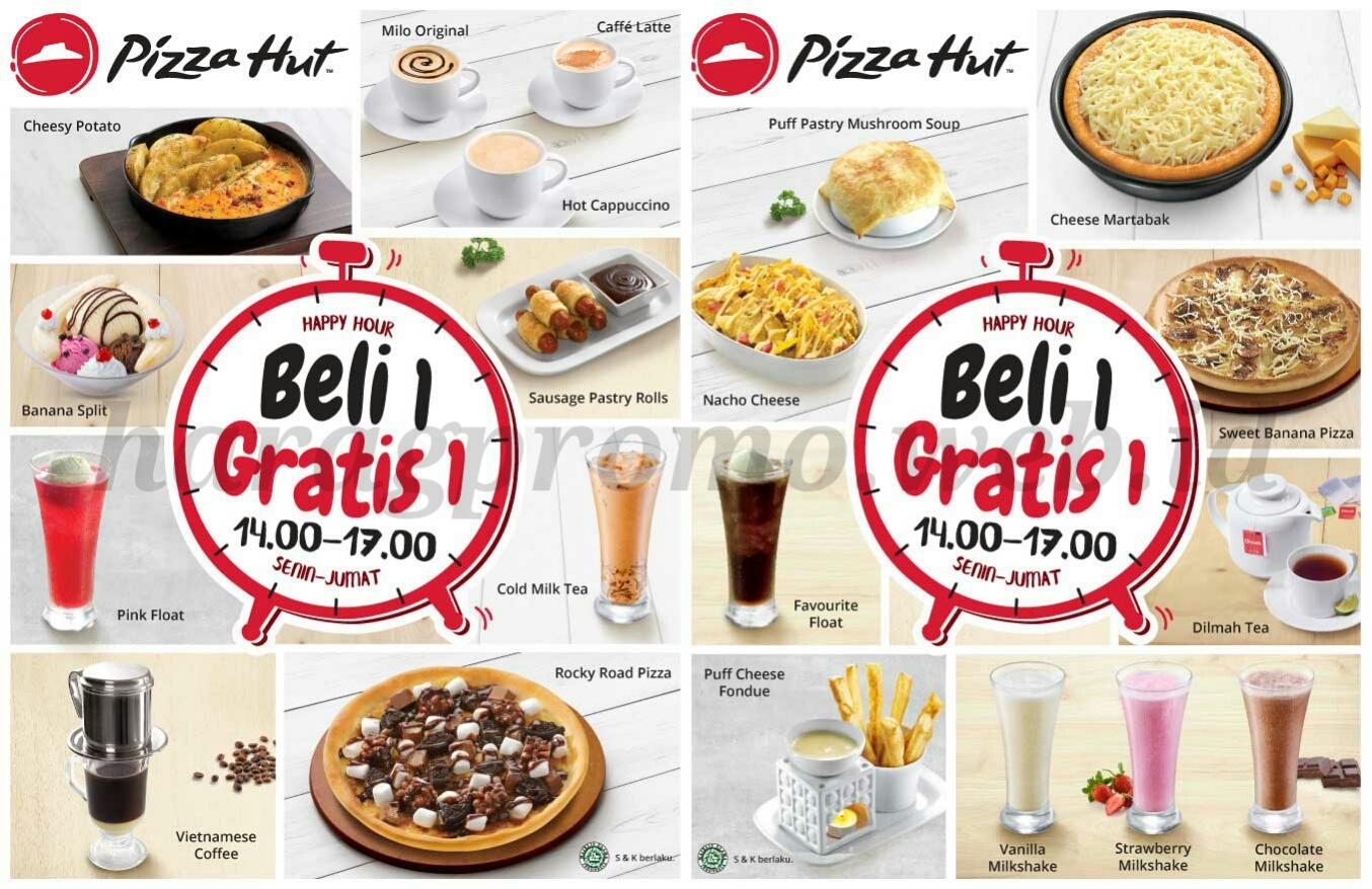 Promo Pizza Hut Happy Hour