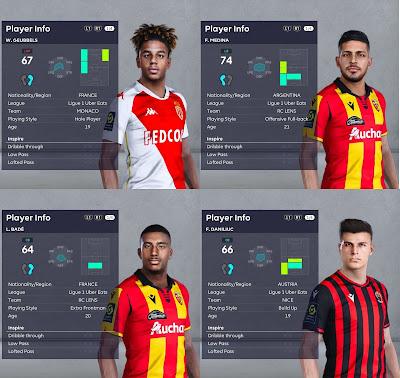 PES 2021 Facepack Ligue 1 Vol 5