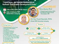 Seminar Nasional Pendidikan Forkom PG Paud FKIP Unila