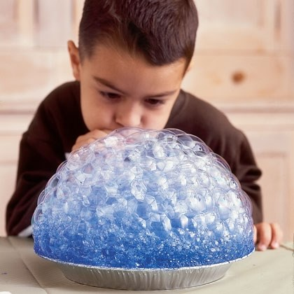 Craft: Soap Bubble Prints