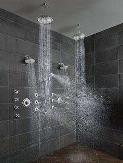 panel shower