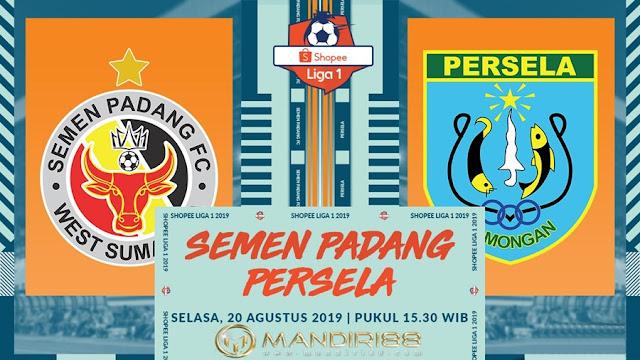 Prediksi Semen Padang Vs Persela Lamongan, Selasa 20 Agustus 2019 Pukul 15.30 WIB