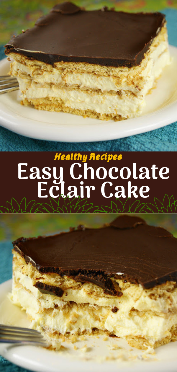 Healthy Recipes | Easy Chocolate Eclair Cake, Healthy Recipes For Weight Loss, Healthy Recipes Easy, Healthy Recipes Dinner, Healthy Recipes Pasta, Healthy Recipes On A Budget, Healthy Recipes Breakfast, Healthy Recipes For Picky Eaters, Healthy Recipes Desserts, Healthy Recipes Clean, Healthy Recipes Snacks, Healthy Recipes Low Carb, Healthy Recipes Meal Prep, Healthy Recipes Vegetarian, Healthy Recipes Lunch, Healthy Recipes For Kids, Healthy Recipes Crock Pot, Healthy Recipes Videos, Healthy Recipes Weightloss, Healthy Recipes Chicken, Healthy Recipes Heart, Healthy Recipes For One, Healthy Recipes For Diabetics, Healthy Recipes Smoothies, Healthy Recipes For Two, Healthy Recipes Simple, Healthy Recipes For Teens, Healthy Recipes Protein, Healthy Recipes For School, Healthy Recipes Slimming World, Healthy Recipes Fitness, Healthy Recipes Baking, Healthy Recipes Sweet, Healthy Recipes Indian, Healthy Recipes Summer, Healthy Recipes Vegetables, Healthy Recipes Diet, Healthy Recipes No Meat, Healthy Recipes Asian, Healthy Recipes On The Go, Healthy Recipes Fast, Healthy Recipes Ground Turkey, Healthy Recipes Rice, Healthy Recipes Mexican, Healthy Recipes Fruit, Healthy Recipes Tuna, Healthy Recipes Sides, Healthy Recipes Zucchini, Healthy Recipes Broccoli, Healthy Recipes Spinach,   #healthyrecipes #recipes #food #appetizers #dinner #chocolate #eclair #dessert