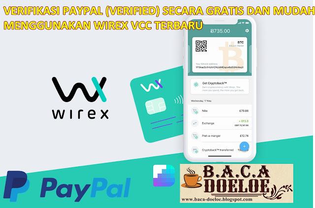 Cara Verifikasi Paypal Gratis Terbaru menggunakan VCC Wirex Update, Info Cara Verifikasi Paypal Gratis Terbaru menggunakan VCC Wirex Update, Informasi Cara Verifikasi Paypal Gratis Terbaru menggunakan VCC Wirex Update, Tentang Cara Verifikasi Paypal Gratis Terbaru menggunakan VCC Wirex Update, Berita Cara Verifikasi Paypal Gratis Terbaru menggunakan VCC Wirex Update, Berita Tentang Cara Verifikasi Paypal Gratis Terbaru menggunakan VCC Wirex Update, Info Terbaru Cara Verifikasi Paypal Gratis Terbaru menggunakan VCC Wirex Update, Daftar Informasi Cara Verifikasi Paypal Gratis Terbaru menggunakan VCC Wirex Update, Informasi Detail Cara Verifikasi Paypal Gratis Terbaru menggunakan VCC Wirex Update, Cara Verifikasi Paypal Gratis Terbaru menggunakan VCC Wirex Update dengan Gambar Image Foto Photo, Cara Verifikasi Paypal Gratis Terbaru menggunakan VCC Wirex Update dengan Video Vidio, Cara Verifikasi Paypal Gratis Terbaru menggunakan VCC Wirex Update Detail dan Mengerti, Cara Verifikasi Paypal Gratis Terbaru menggunakan VCC Wirex Update Terbaru Update, Informasi Cara Verifikasi Paypal Gratis Terbaru menggunakan VCC Wirex Update Lengkap Detail dan Update, Cara Verifikasi Paypal Gratis Terbaru menggunakan VCC Wirex Update di Internet, Cara Verifikasi Paypal Gratis Terbaru menggunakan VCC Wirex Update di Online, Cara Verifikasi Paypal Gratis Terbaru menggunakan VCC Wirex Update Paling Lengkap Update, Cara Verifikasi Paypal Gratis Terbaru menggunakan VCC Wirex Update menurut Baca Doeloe Badoel, Cara Verifikasi Paypal Gratis Terbaru menggunakan VCC Wirex Update menurut situs https://www.baca-doeloe.com/, Informasi Tentang Cara Verifikasi Paypal Gratis Terbaru menggunakan VCC Wirex Update menurut situs blog https://www.baca-doeloe.com/ baca doeloe, info berita fakta Cara Verifikasi Paypal Gratis Terbaru menggunakan VCC Wirex Update di https://www.baca-doeloe.com/ bacadoeloe, cari tahu mengenai Cara Verifikasi Paypal Gratis Terbaru menggunakan VCC Wirex Update, situs blog membahas