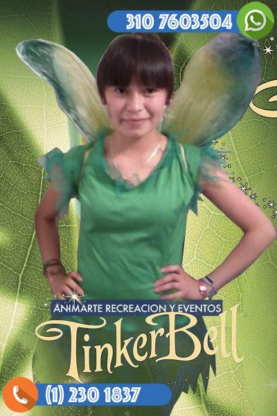 TinkerBell o Campanita en tu fiesta infantil