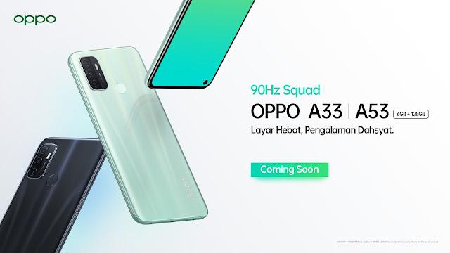 Spesifikasi OPPO A33