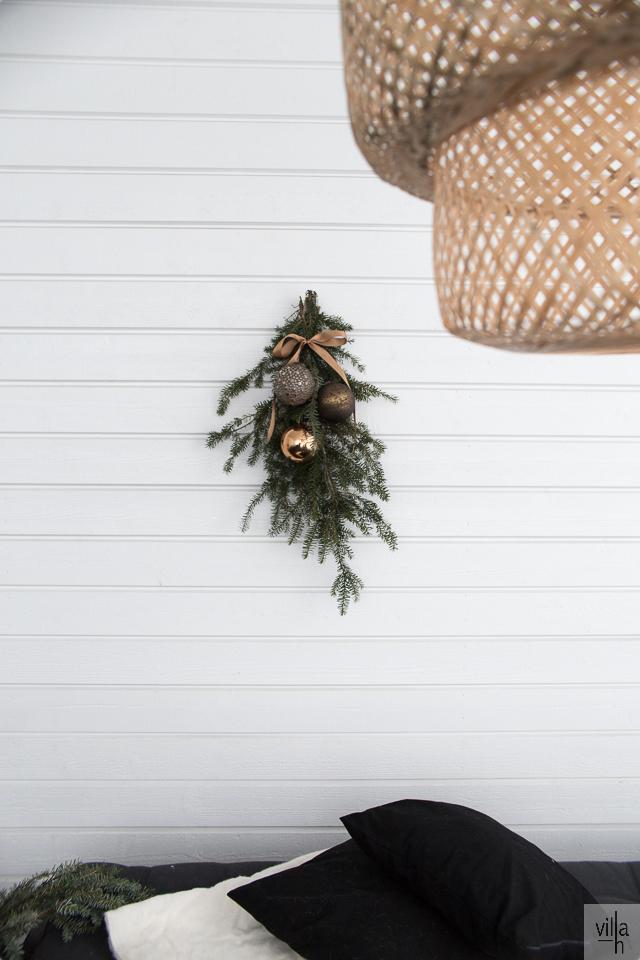 uudenlainen kranssi, joulukoriste, havut, interior, joulu, ideoita jouluun