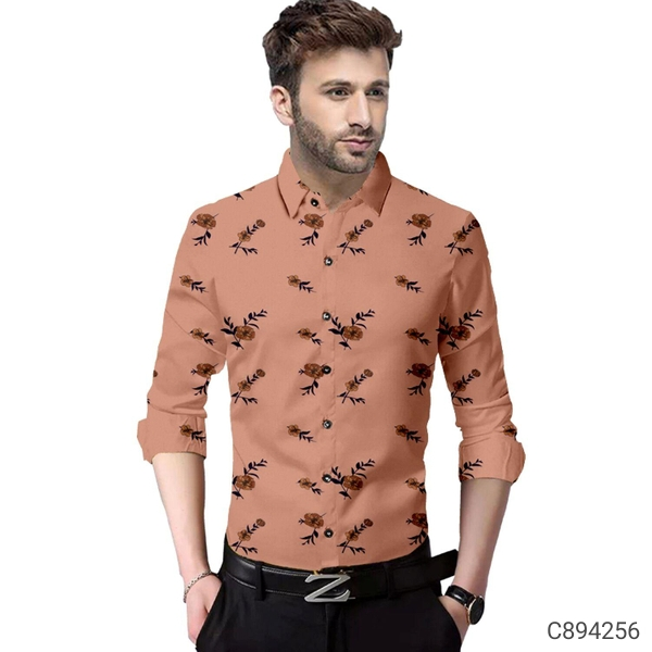 Men's cotton printed shirts