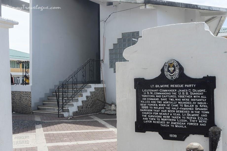 Lt. Gilmore's historical marker