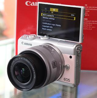 Jual Kamera Canon Eos M100 Lensa Kit STM Fullset
