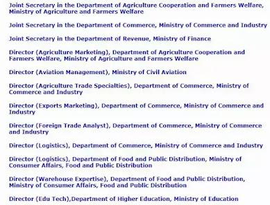 UPSC Recruitment 2021 - Director & Joint Secretary