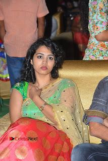 Singer Manisha Eeraini Stills in Half Saree at Nenu Local Audio Launch