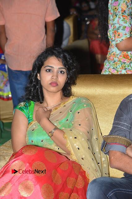 Singer Manisha Eeraini Stills in Half Saree at Nenu Local Audio Launch  0001.JPG