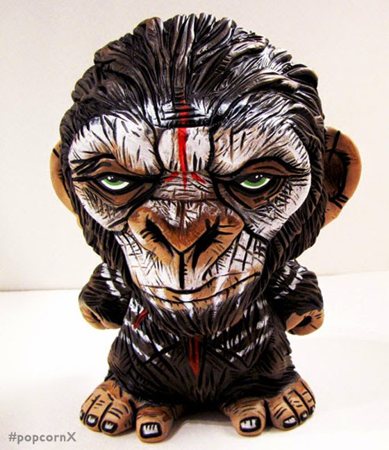 """""""Caesar"""" From """"Dawn Of The Planet Of The Apes"""" Custom By"""