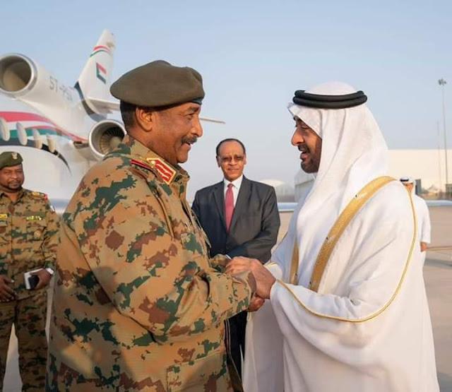 البرهان يصل الإمارات