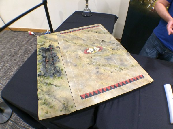Games Workshop: Blood Bowl Miniature Game - Playing Field