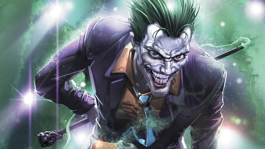 Joker, Evil, Smile, DC, 4K, #6.2103