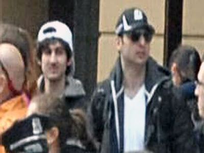 Boston Marathon bombers identified, two brothers from Chechnya one dead one being pursued by the Boston Police