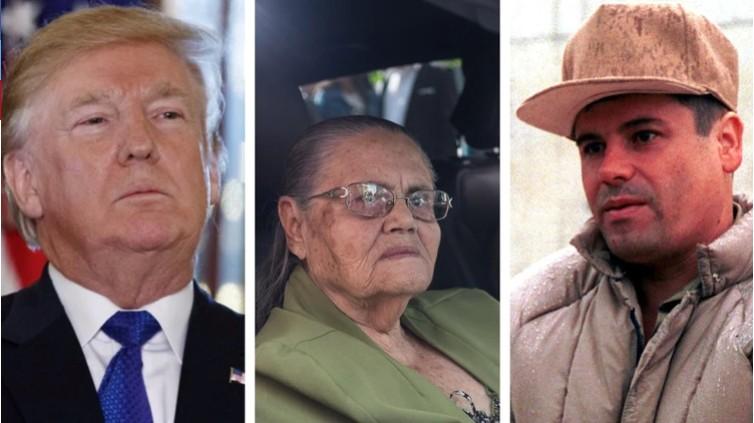 """""""En espera de un acto Humanitario y Cristiano"""", Qué dice la carta que la madre de """"El Chapo"""" Guzmán envió a Donald Trump"""