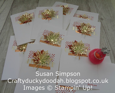 Stampin' Up! UK Independent  Demonstrator Susan Simpson, Craftyduckydoodah!, Review of 2017 Part III, Supplies available 24/7 from my online store,