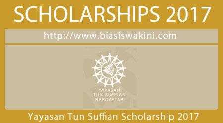 Yayasan Tun Suffian Scholarship 2017