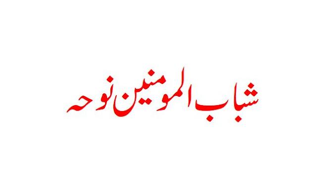 Aa gayee binte Ali be rida hath bandhay Shab ul Momineen Noha Lyrics