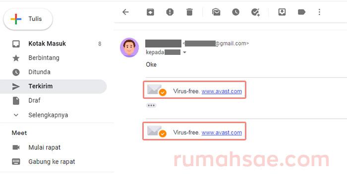 Kirim Email Ada Avast Signaturenya? Begini Cara Menonaktifkannya