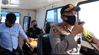 Sosialisasi New Normal, Kapolres Pelabuhan Imbau Masyarakat Pesisir Cegah Covid-19