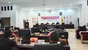 DPRD Samosir Laksanakan Paripurna Tetapkan Hasil Reses, Ini Aspirasi Rakyat