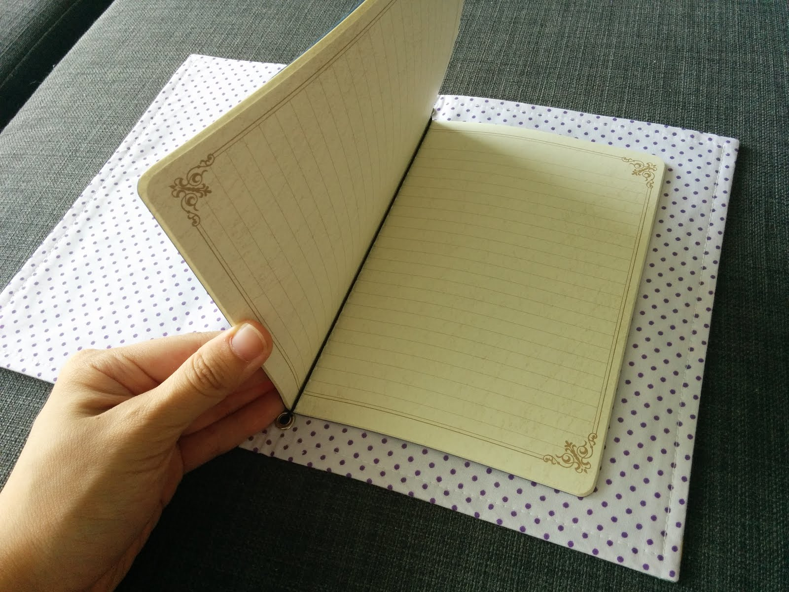 DIY Traveller's Notebook Midori / Fauxdori Journal Cover