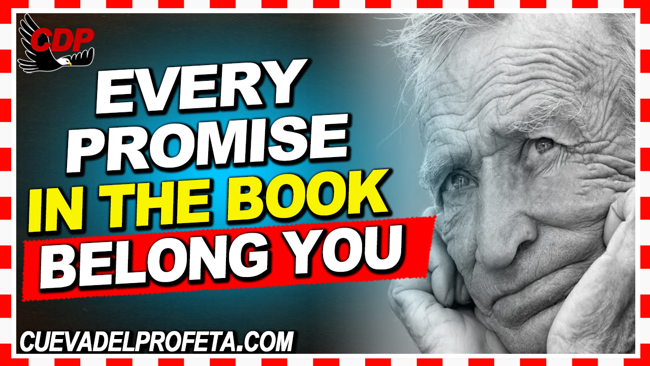 Every promise in the Book belongs to every believer - William Marrion Branham