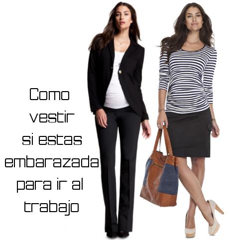 49a9a5e6e Los atuendos de una mujer embarazada hoy en día tienen un estilo particular  y para ir a trabajar no es la excepción