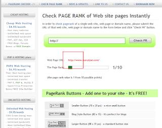 Alhamdullilah… Surprise for www.nunutjoe.com get Pagerank