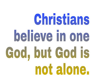 What is the Christian belief of God Who do we worship, how do we see God?