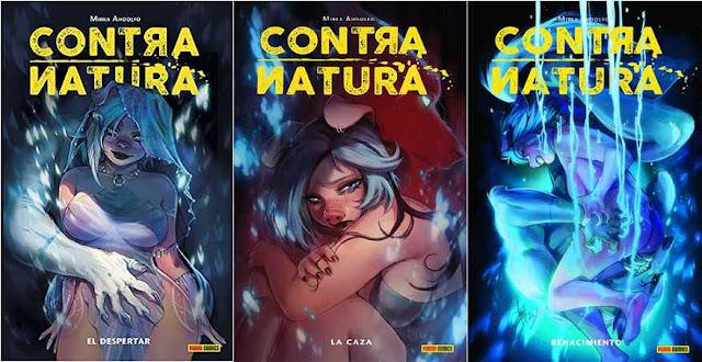 Reseña: Contra natura- Mirka Andolfo