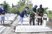 Lanud Sam Ratulangi Peringati Hari Bakti ke-73 TNI AU dengan Ziarah ke TMP