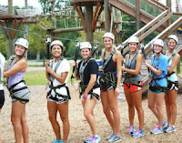 High Trek Adventures ropes course