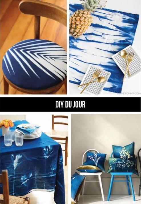 create sunprint home accessories DIY tutorial