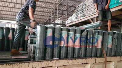 Distributor Kawat Loket Galvanis & PVC Jakarta Special Mesh